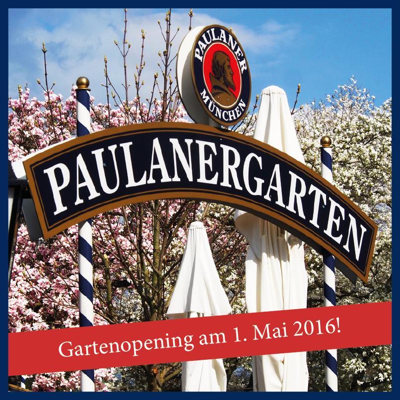 Gartenopening im Paulanergarten Hanau am 1. Mai 2016